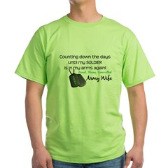 Proud, Strong, Committed Green T-Shirt
