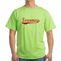 Vintage Journey (Red) Green T-Shirt