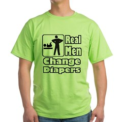 realmendiaperstrans Green T-Shirt