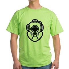 Diving Helme Green T-Shirt