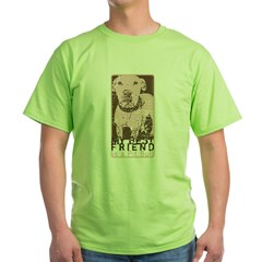 Vintage Best Friend Green T-Shirt