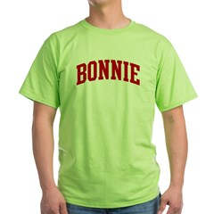 BONNIE (red) Green T-Shirt