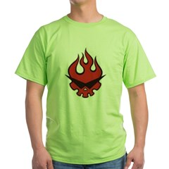Gurren Lagann Team shirt Green T-Shirt