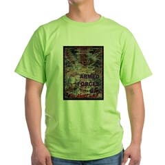 UK Armed Forces Day Green T-Shirt