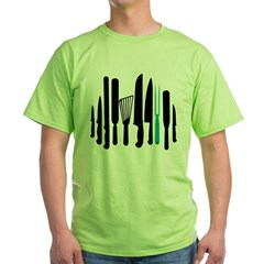 knives and such Green T-Shirt