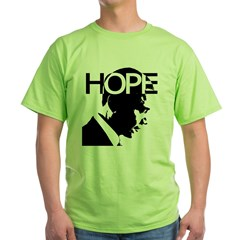 HOPE Obama Green T-Shirt
