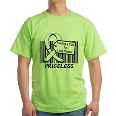 Lung Cancer Cure Green T-Shirt