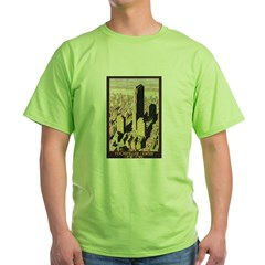Rockefeller Center NYC Green T-Shirt