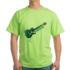 Big Brothers Rock (Blue) Green T-Shirt