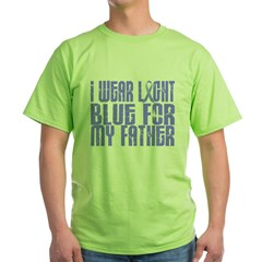 I Wear Light Blue 16 (Father) Green T-Shirt