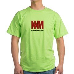 Network for New Music Green T-Shirt