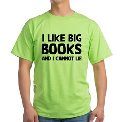 I Big Books Green T-Shirt