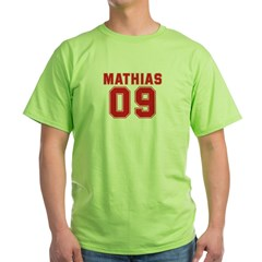 MATHIAS 09 Green T-Shirt