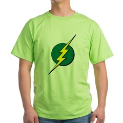 Jamaican Bolt 1 Green T-Shirt