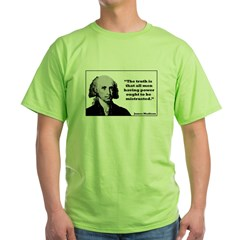 Madison - Power Green T-Shirt