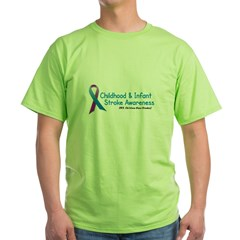 Childhood Stroke Awareness 1 Green T-Shirt
