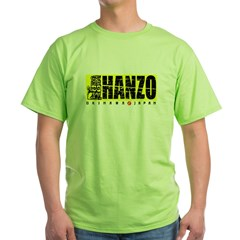 Hanzo Distress Green T-Shirt
