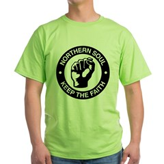 keep_the_faith Green T-Shirt