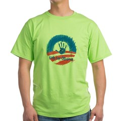 Kids for Obama Green T-Shirt