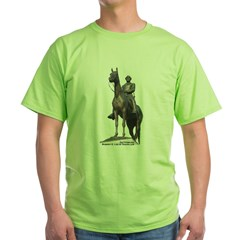 Robert E. Lee at Gettysburg Green T-Shirt