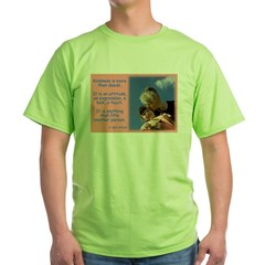 'Kindness Lifts' Green T-Shirt