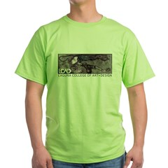 LCAD 2008 Student Designed Green T-Shirt