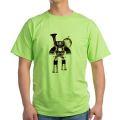 musicrobot_color.jpg Green T-Shirt