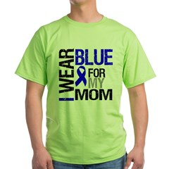I Wear Blue Mom Green T-Shirt