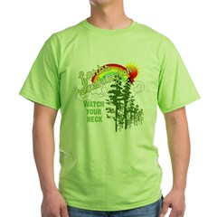 Forks Washington Twilight Green T-Shirt