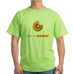 Body by Dunkin Green T-Shirt