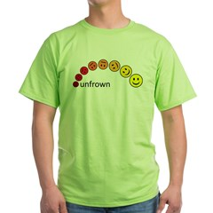 unfrown Green T-Shirt