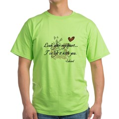 Twilight Quote Green T-Shirt