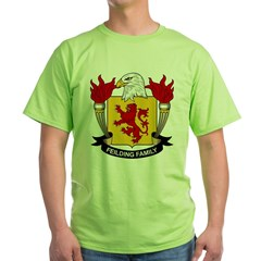 Feilding Family Crest Green T-Shirt