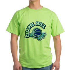 Chapel Hill Basketbal Green T-Shirt