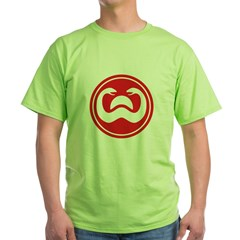 Snakes of Doom Green T-Shirt