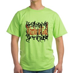 Warrior of God Green T-Shirt
