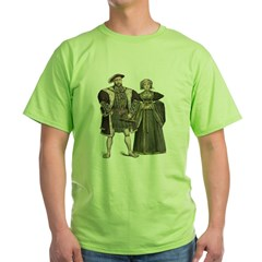 Tudor Fashion Green T-Shirt