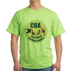 Birding Addic Green T-Shirt