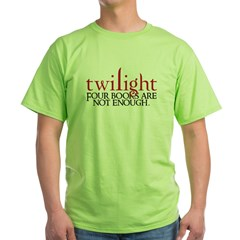 FourBooks3 Green T-Shirt
