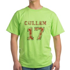 cullen-ver-6 Green T-Shirt