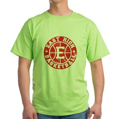 East High Basketball Green T-Shirt