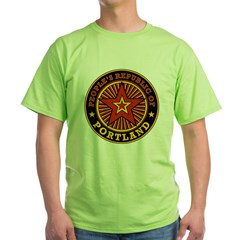 People's Republic of Portland Green T-Shirt