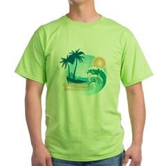 California Dreamin' Green T-Shirt