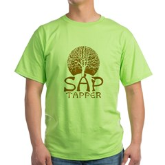 Sap Tapper - Green T-Shirt