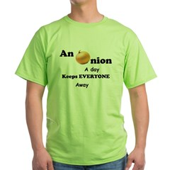 Onion A Day Green T-Shirt