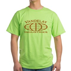 van976gh Green T-Shirt