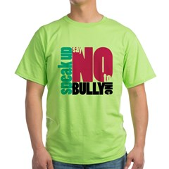 2-NoBullying Green T-Shirt
