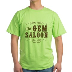 The Gem Saloon Green T-Shirt