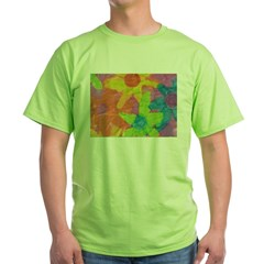 Spring Flowers Green T-Shirt