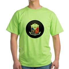 Coat of Arms of philippines Green T-Shirt